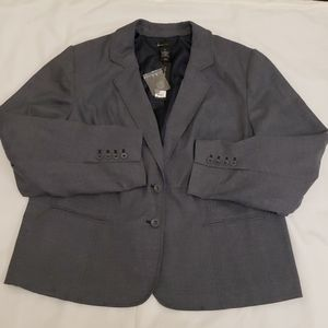 NWT! Lane Bryant Tailored Stretch Suit Jacket 28